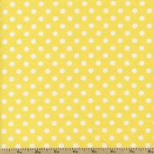 Socky Cotton Fabric - Dots - Yellow 29398A-7