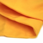 Solid Fleece Fabric -Yellow