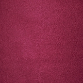 Solid Fleece Fabric - Burgundy