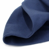 Solid Fleece Fabric - Navy