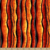 Some Like it Hot Cotton Fabric - Orange 05650-33