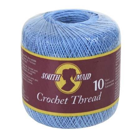 south maid crochet thread size 10 delft blue crochet 10