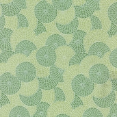 Spearmint Pearl from Hoffman Fabrics - discs