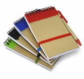 Spiral Bound Notepad 5pc Set - Assorted Colors
