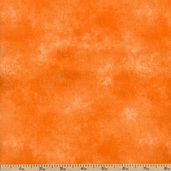 Sponge Blender Cotton Fabric - Orange