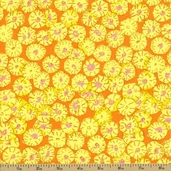 Spring 2012 Cotton Fabric - Sand Dollars - Yellow