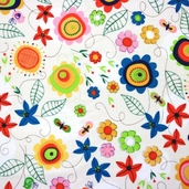 Spring Street Cotton Fabric - Multi