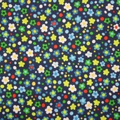 Spring Street Cotton Fabric - Navy