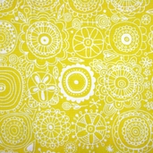 Spring Street Cotton Fabric - Yellow