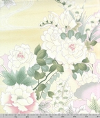 Springtime in Kyoto Cotton Fabric - Lotus Pearl