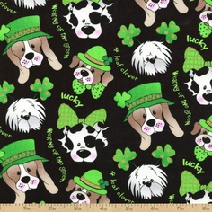 St. Patrick's Day Fabric