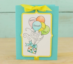 Stampendous Gift Drift Card