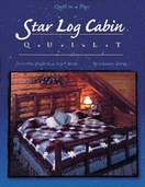 Star Log Cabin Quilt from Quilt in a Day Books by Eleanor Burns