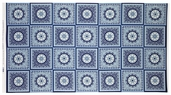 Star Spangled Bandana Cotton Fabric - Blue 02890-55