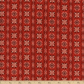 Star Spangled Bandana Cotton Fabric - Red 02895-10