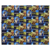 Star Wars Immortals Patchwork Cotton Fabric - Blue