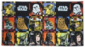 Star Wars Panel Cotton Fabric - Black 73010103-1