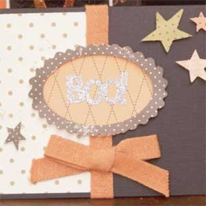 Starry Boo Card