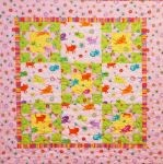 Stars of Hope Quilt Kit from Robert Kaufman - girl - CLEARANCE