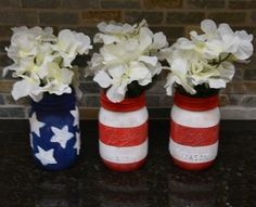 Stars & Stripes Canning Jars
