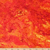 Stonehenge Mother Earth Cotton Fabric - Magma