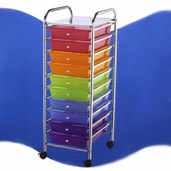 Storage Cart 10 Drawer - Clearance