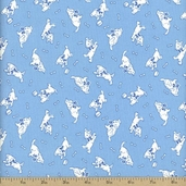 Storybook Classics Cotton Fabric - Blue #36081-3