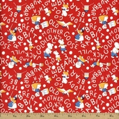 Storybook Classics Cotton Fabric - Red 36076-1