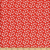 Storybook Classics Cotton Fabric - Red #36079-1