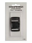 Strapworks Center Release 1 inch Black