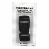 Strapworks Heavy Duty Side Lock Buckle - Black