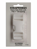 Strapworks Heavy Duty Side Lock Buckle - White