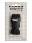 Strapworks Low Profile Side Lock 1 inch Black
