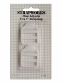 Strapworks Strap Adjusters 1 inch White 2 pack.