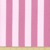 Studio Graphics Cotton Fabric - Stripe - Pink