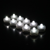 Submersible Floralytes LED - White Light 10 pk