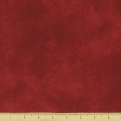 Suede Brights Cotton Fabric - Red - SUEB-300-R