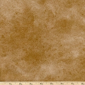 Suede Flannel Cotton Fabric - Light Brown