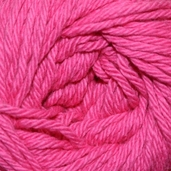 Sugar N Cream Yarn - hot Pink