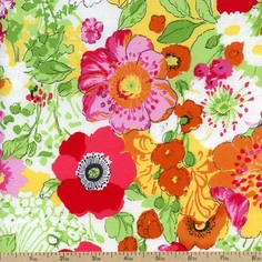 Summer Floral Packed Cotton Fabric - Multi STELLA-203-MULTI