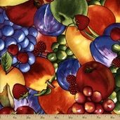 Summer Preserves Cotton Fabric - Multi-Color Q.1053-59010-365S