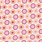 Summer Song Cotton Fabric - Pink