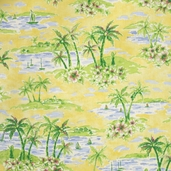 Sun Shade Decorating Cotton Fabric - Isla Bonita - Clearance