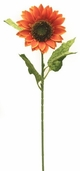 Sunflower Floral Stem 34in. - Rust