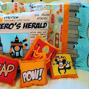 Super Hero Pillows