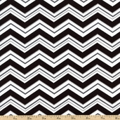 Superhero Zig Zag Cotton Fabric - Steel AIB-13234-185 STEEL