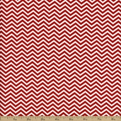 Surrounded By Love Small Chevron - Red