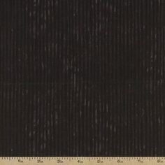 Suzy's Pumpkin Patch Stripe Cotton Fabric - Black
