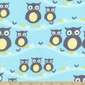 Sweet Baby Cotton Fabric - Aqua