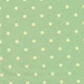 Sweet Beginnings Cotton Fabric - Green - Clearance